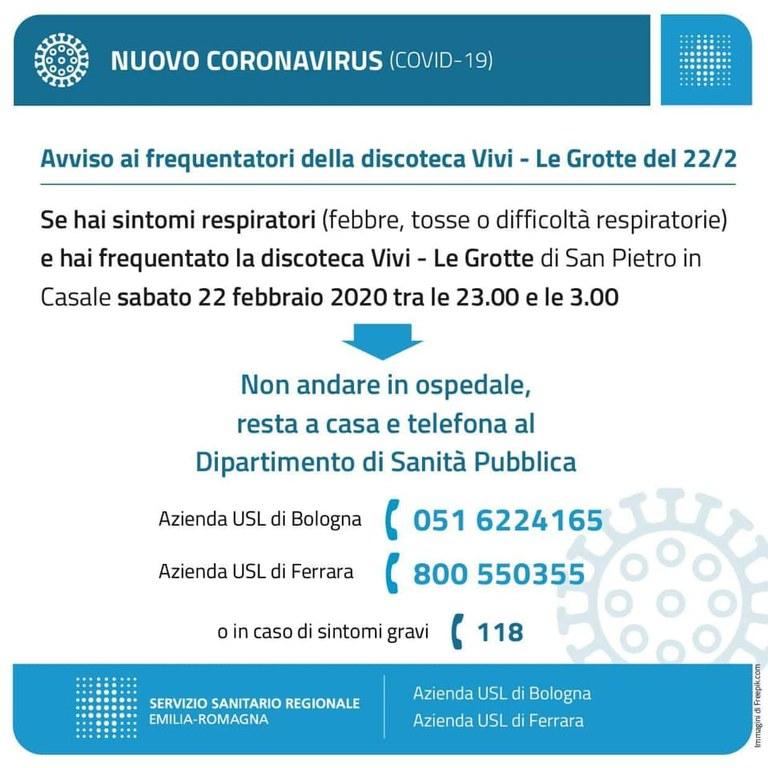 Coronavirus Le Grotte