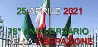 25 aprile 2021, 76° Anniversario della Liberazione