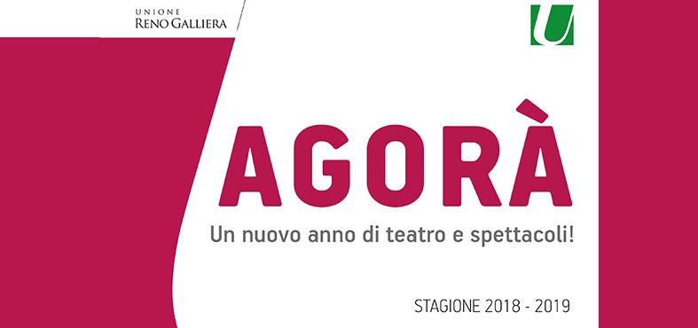 Agorà stagione 2018/2019: un nuovo anno di teatro e spettacoli