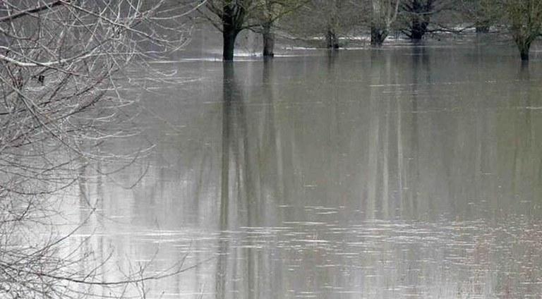 Allerta Meteo 2 febbraio 2019, piena fiume Reno