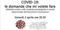 COVID-19:  le domande che mi volete fare - conferenza online del Dott. Roberto Benini