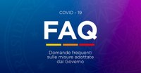 FAQ Covid-19, aggiornate le domande frequenti sulle misure adottate dal Governo