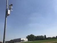 Installazione impianto di videosorveglianza con controllo targhe