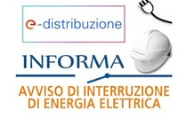 Interruzione energia elettrica giovedì 4 giugno