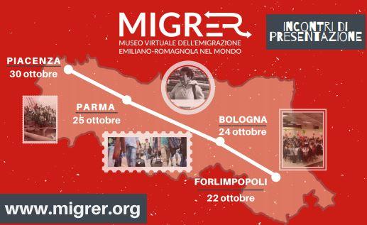 MigrEr: Museo virtuale dell'emigrazione emiliano-romagnola nel mondo