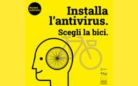Mobilità sostenibile, la campagna #andràtuttinbici