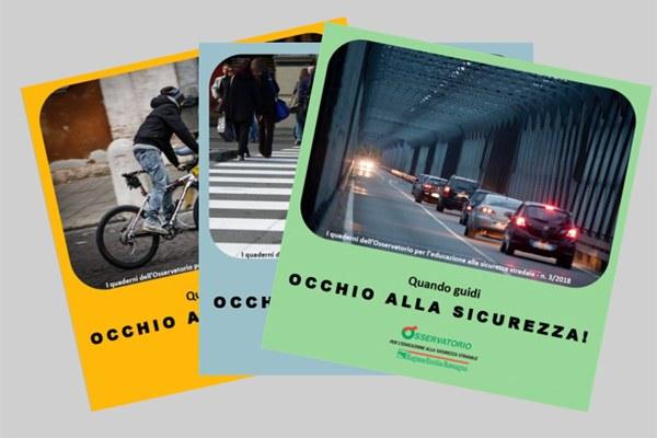 """Sicurezza stradale, tre """"quadrerni"""" per evitare gli incidenti nel rispetto reciproco"""