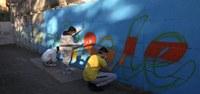 Sottopasso ciclopedonale di via Rubizzano: un nuovo murales realizzato dai giovani di Futura