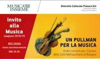 Un pullman per la musica dai comuni dell'Unione Reno Galliera stagione teatrale 2019/2020