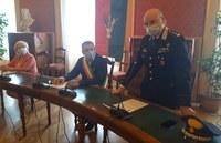 Videosorveglianza: siglato l'accordo che consente all'Arma dei Carabinieri l'accesso diretto ai sistemi delle due Unioni Reno Galliera e Terre d'Acqua