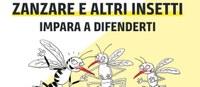 Zanzare e altri insetti, impara a difenderti: la nuova campagna di comunicazione regionale